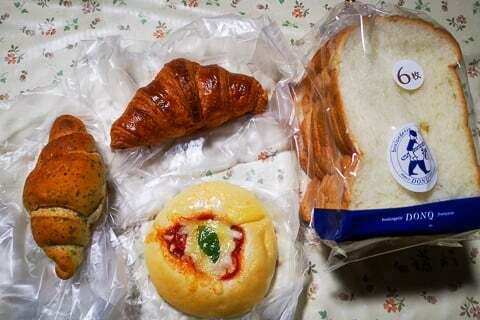 購入したパンの写真