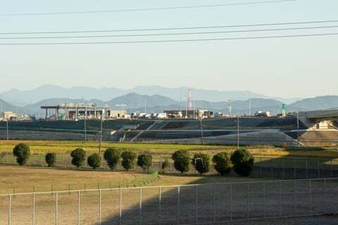 大野神戸ICの料金所の写真