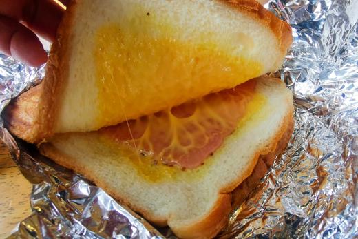 ホットトーストの写真