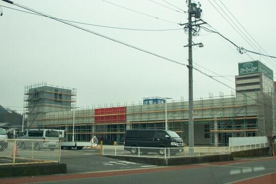 カネスエ恵那店予定地の写真