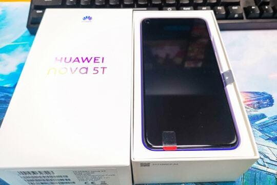 HUAWEI nova 5Tの写真