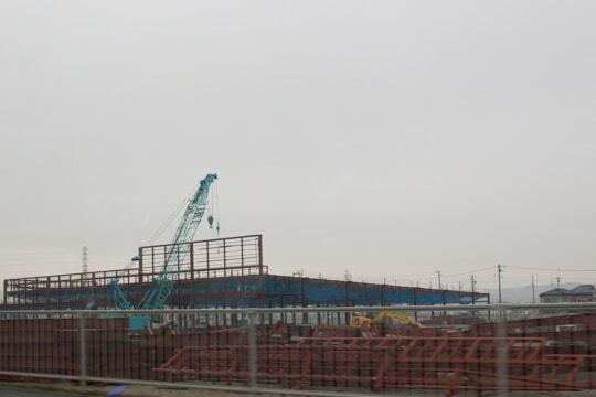建設中の様子の写真