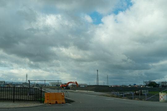イオンモール白山予定地の写真