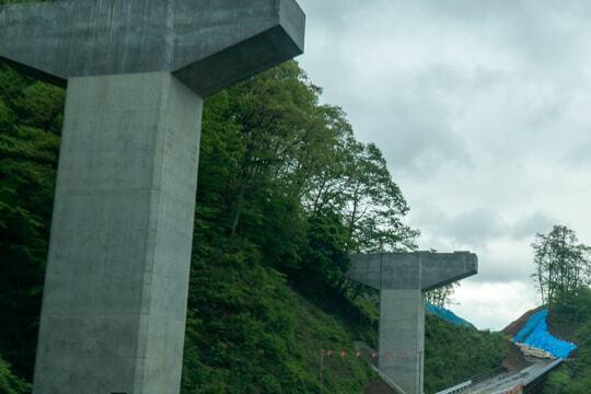 大野油坂道路の写真