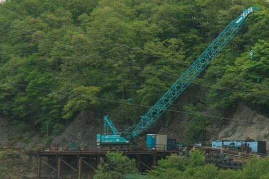 これからトンネルの建設の写真