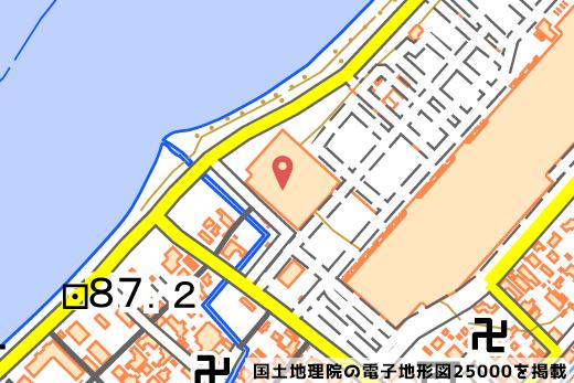222彦根店の位置の写真