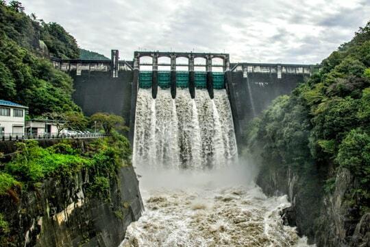 丸山ダムの写真