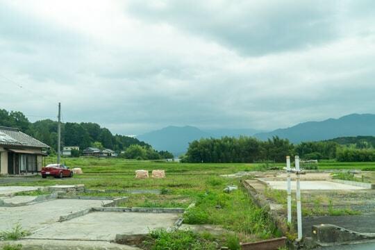 岐阜県駅の予定地はこちらですねの写真