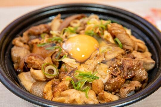 スタミナ超特盛丼の写真
