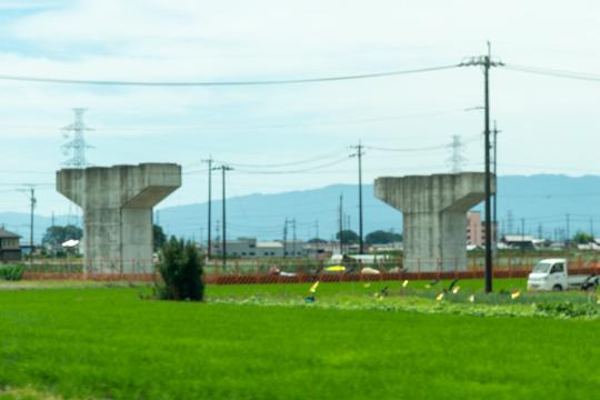 樽見鉄道付近の写真