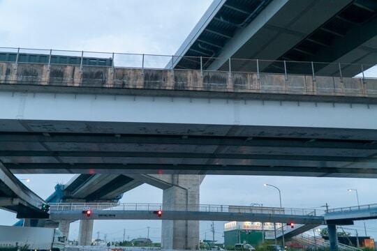 国道23号線と名二環の写真