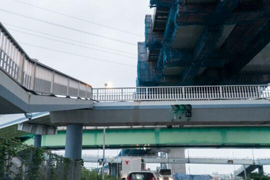 国道1号線と名二環の写真