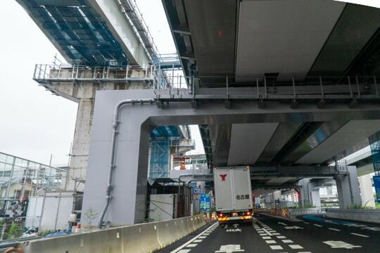 名古屋西JCT付近の写真