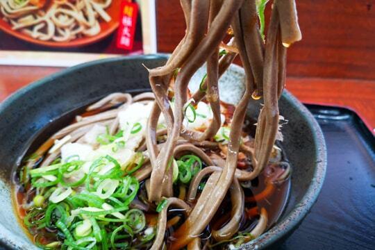 極太麺の写真