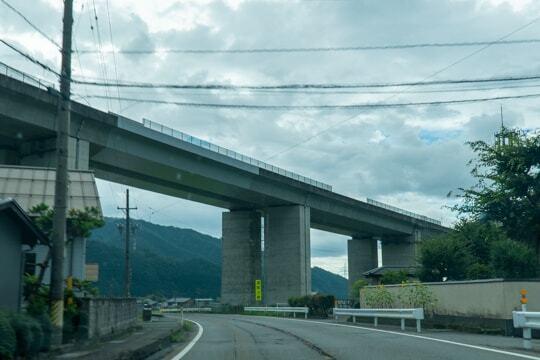 国道157号線の写真