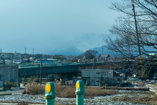 新濃尾大橋(仮称)へつながる道の写真