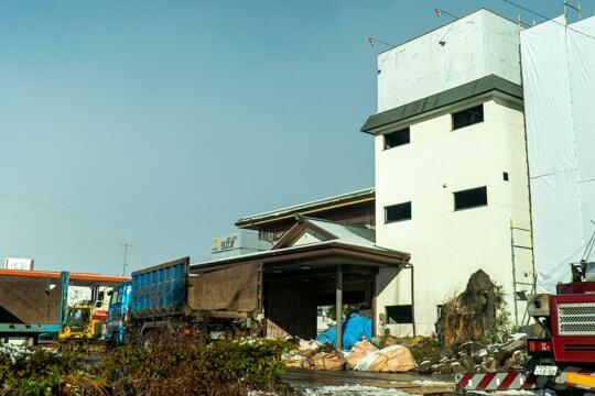 解体工事の写真