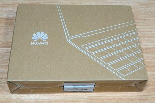 HuaweiのPCの写真