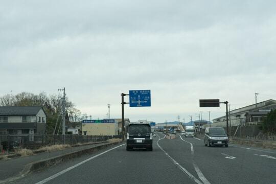 4車線化の開通区間の写真