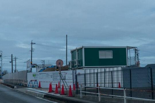 (仮称)カネスエ三郷店の予定地の写真