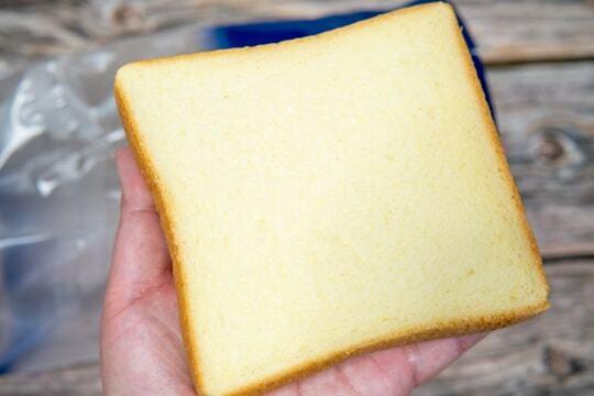 モスバーガーの食パンの写真