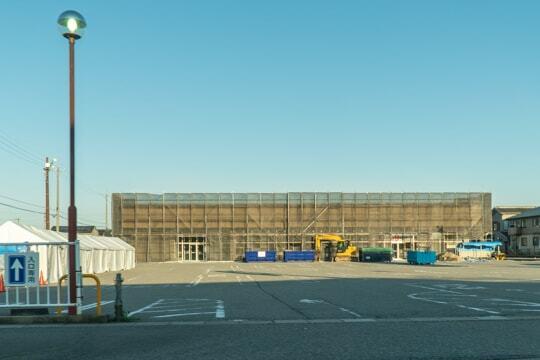 バロー津幡店予定地の写真
