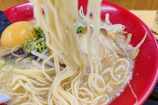 細麺の写真
