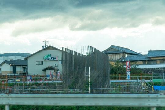 橋脚建設中の写真