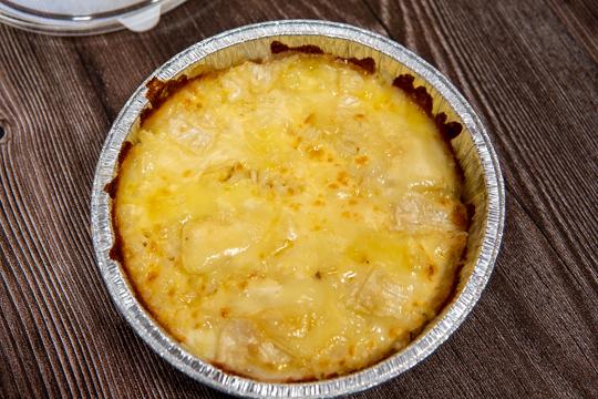 ピザライスボウル 5種のチーズの写真