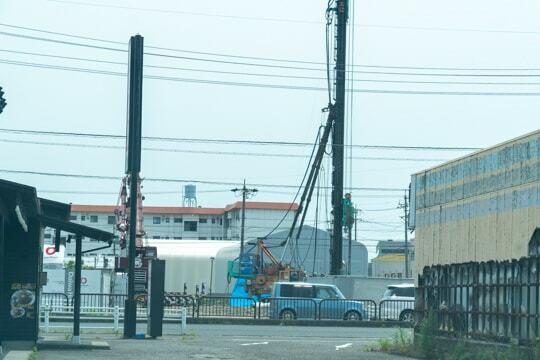 Vドラッグ大垣南店の工事の写真