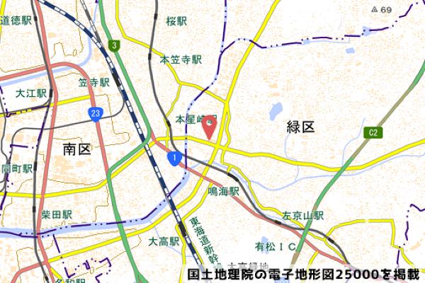 なるぱーくの地図の写真