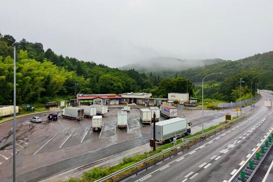 神坂パーキングエリアの写真