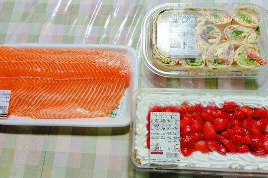 COSTCOの購入品の写真
