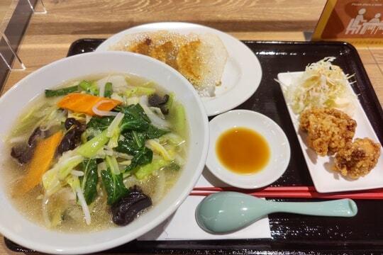 野菜タンメンの写真
