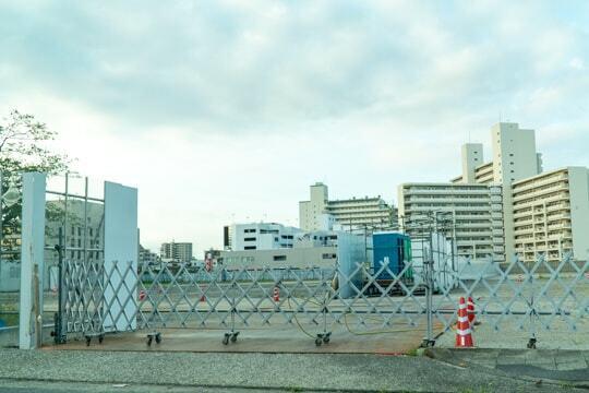 イオン上飯田店予定地の写真