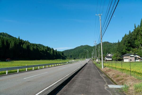 国道256号線の写真