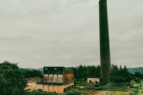 工場跡地の写真