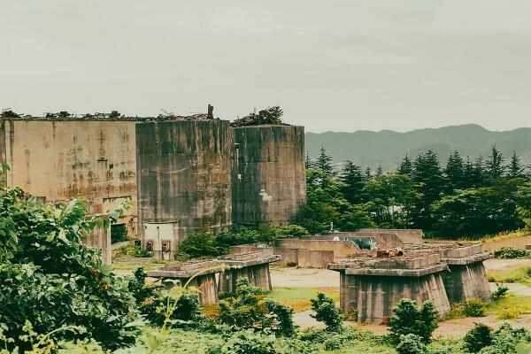 個人的謎の廃墟の写真