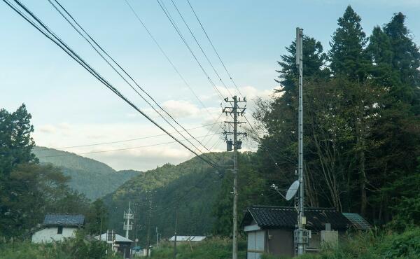 開けた大地への写真